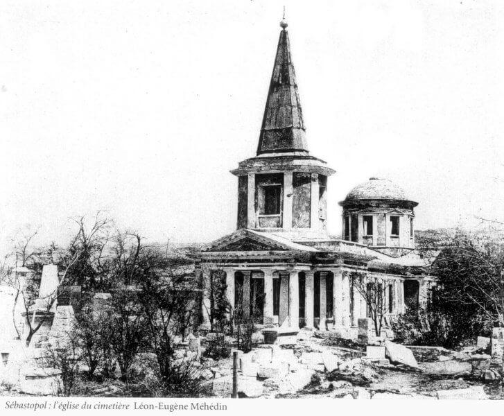 Церковь всех святых в  Севастополе - фото из истории
