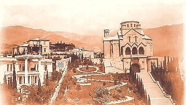 Историческое фото Церкви Святой Рипсиме