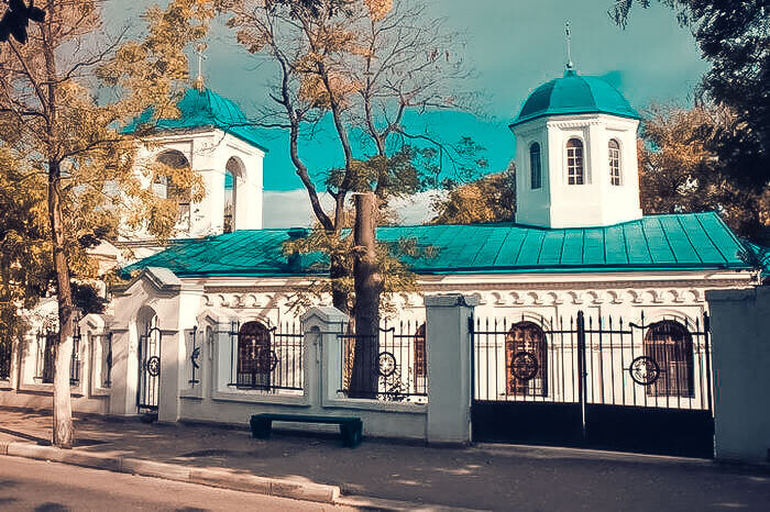Феодосийский Введенский храм в наши дни