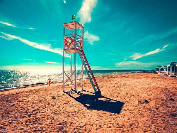 Фото пляжа Лазурный берег