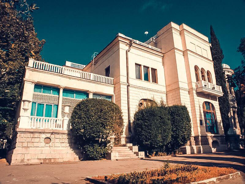 Дворец Суук-су на фото