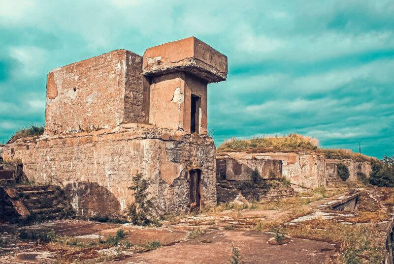 Форт Тотлебен в Керчи - фото