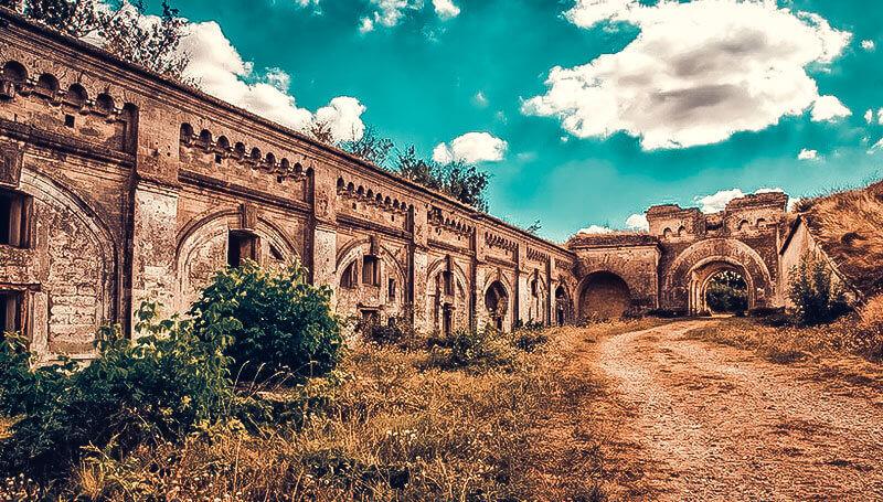 Крепость-невидимка - Форт Тотлебен
