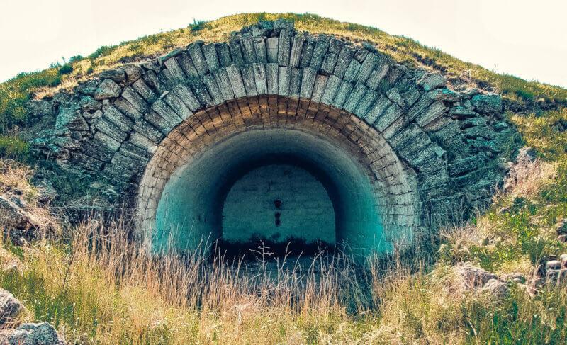 Фотография форта Тотлебен