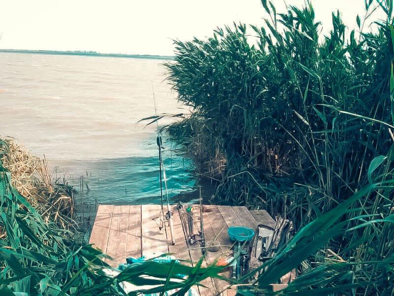 Рыбалка на озере Кызыл-Яр