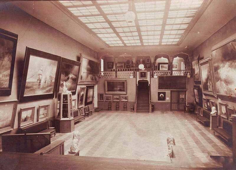 Историческое фото музея Айвазовского в Феодосии