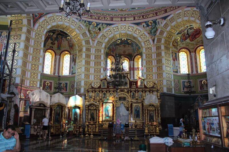 Фото в соборе Николая Чудотворца