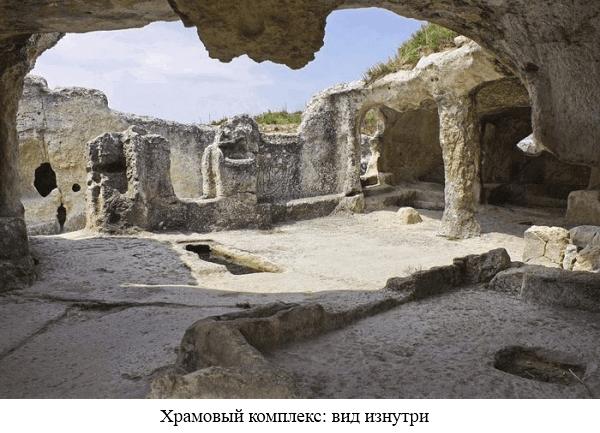 Храмовый комплекс внутри