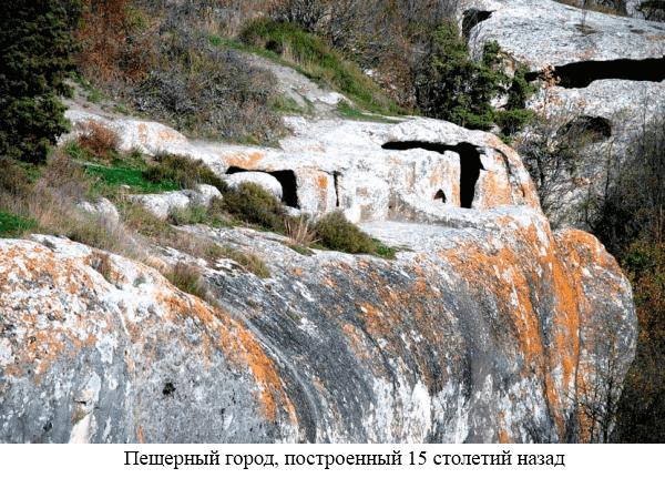 Пещерный город стоит 15 столетий