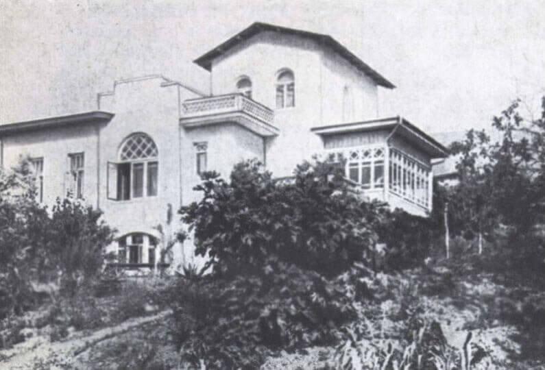 Историческое фото дома Чехова