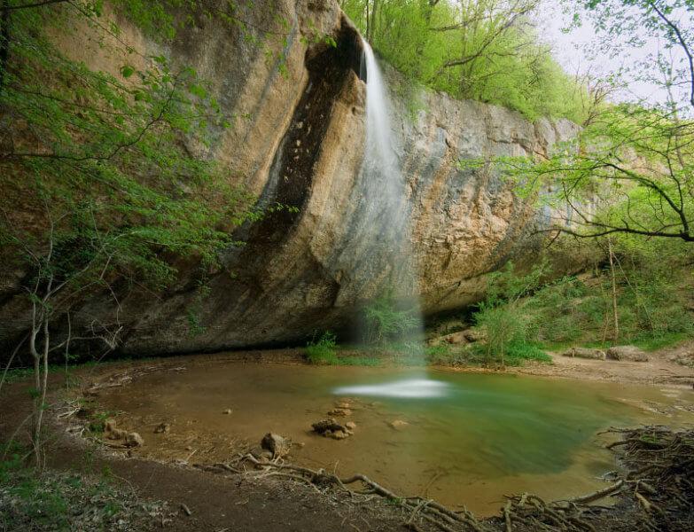 Водопад Козырек - фото