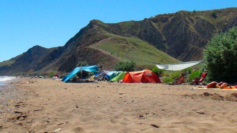 Дикий пляж Лисьей бухты