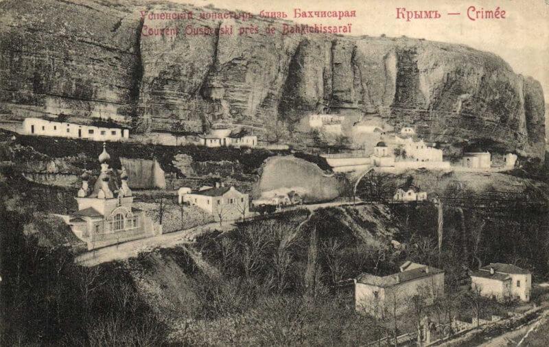 Успенский пещерный монастырь - фото из истории