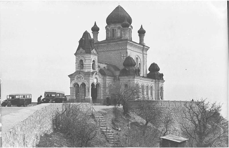 Историческое фото - Форосская церковь