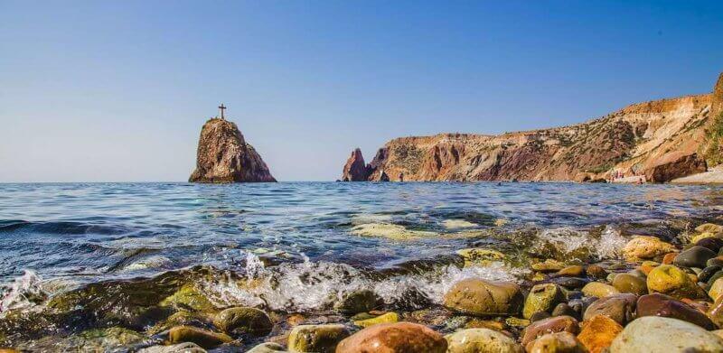 Ямшевый пляж - Мыс Фиолент