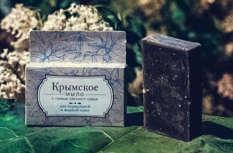 Крымское сувенирное мыло