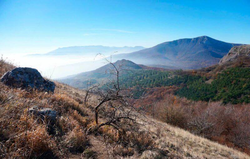 Погода в Крыму - ноябрь месяц