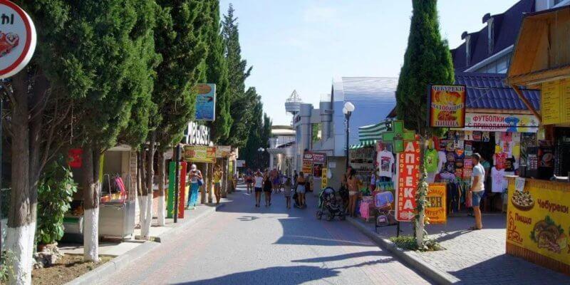 Прогулка по Кипарисовой алее