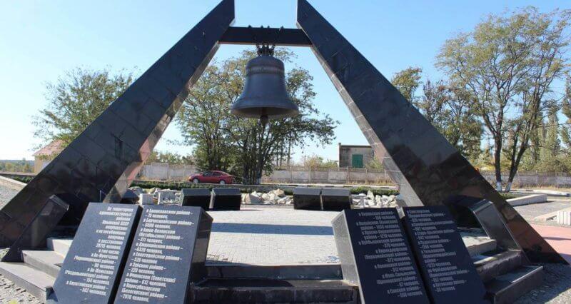 Концлагерь Красный в Крыму - фото мемориала