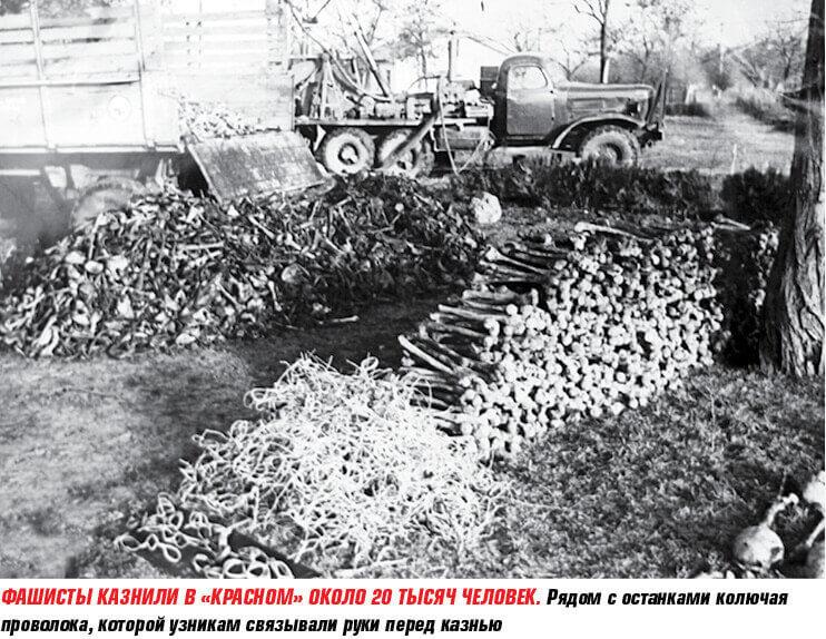 Историческое фото из концлагеря Красный