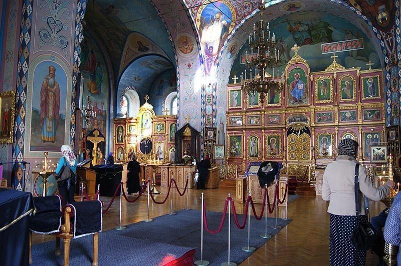 Фото из Петропавловского собора в Симферополе