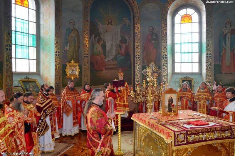Святыни Петропавловского собора