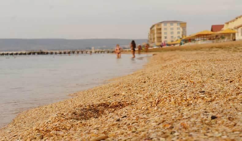 Золотой пляж - фото пляжа