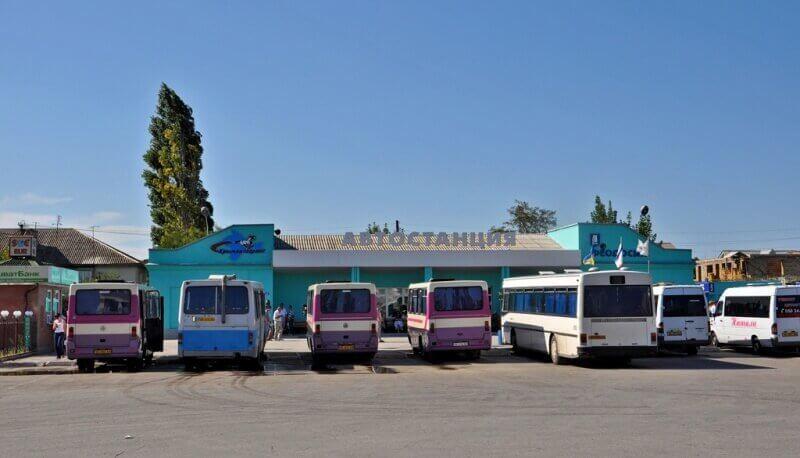 Фото Феодоского автовокзала