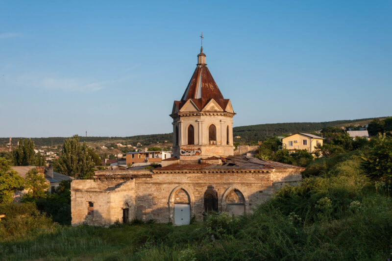 Церковь Святого Георгия в Феодосии - фото