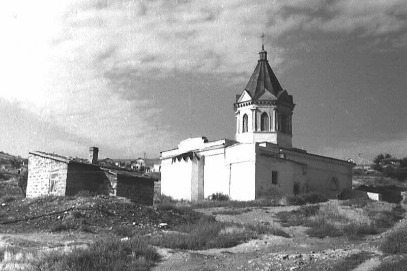 Историческое фото: Церковь Святого Георгия в Феодосии