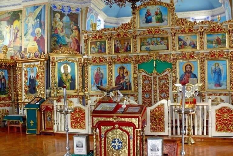 Иконы в Церкви Святой Екатерины
