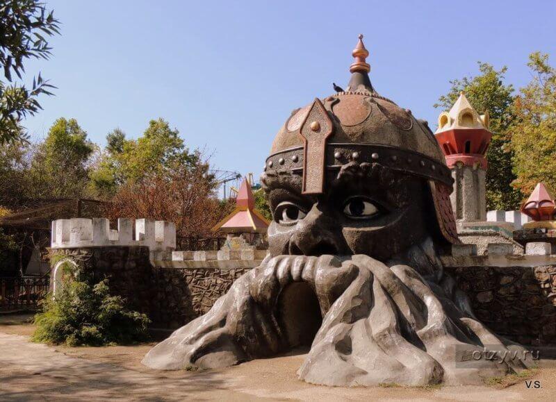 Парк Лукоморье в Севастополь