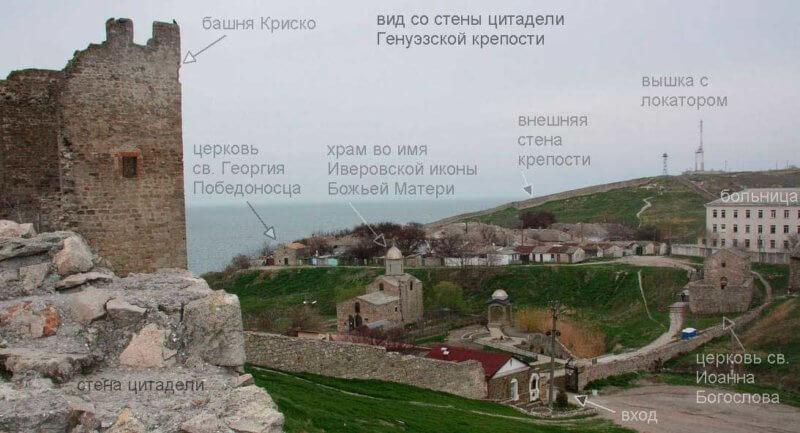 Все обьекты Генуэзской крепости в Феодосии