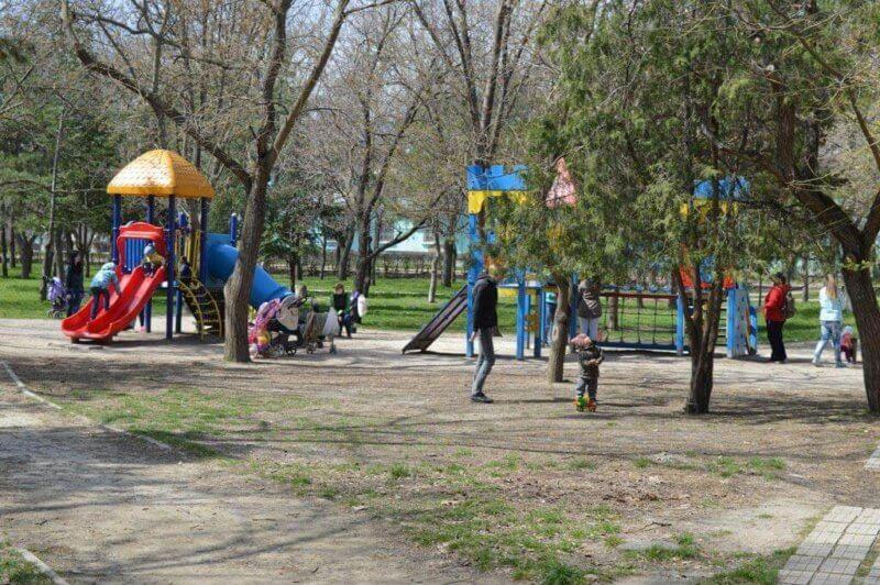 Детские развлечения в Комсомольском парке