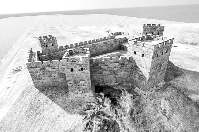 Примерный вид крепости Кутлак