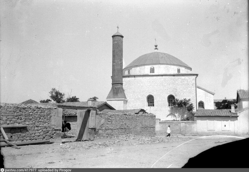 Историческое фото мечети Муфти-Джами