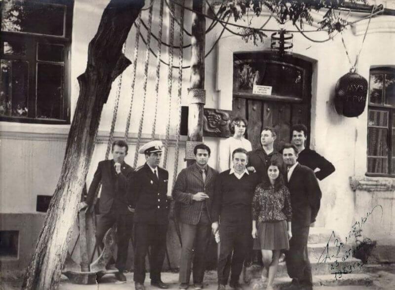 Фото из истории музея Александра Грина в Феодосии