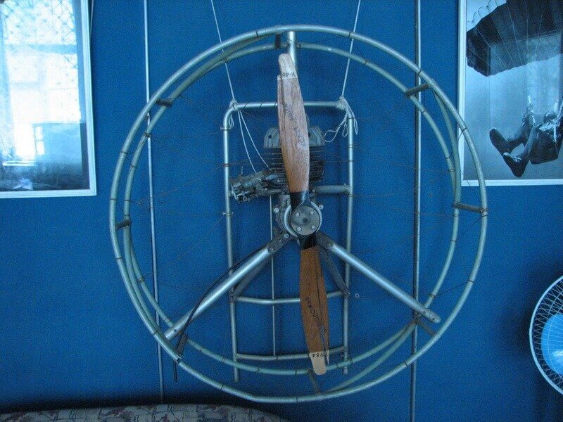 Экспонат музея дельтопланеризма