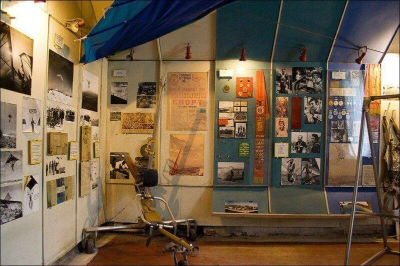 На фото музей дельтапланеризма
