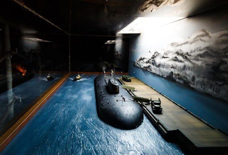 Фото из музея катастроф в Крыму