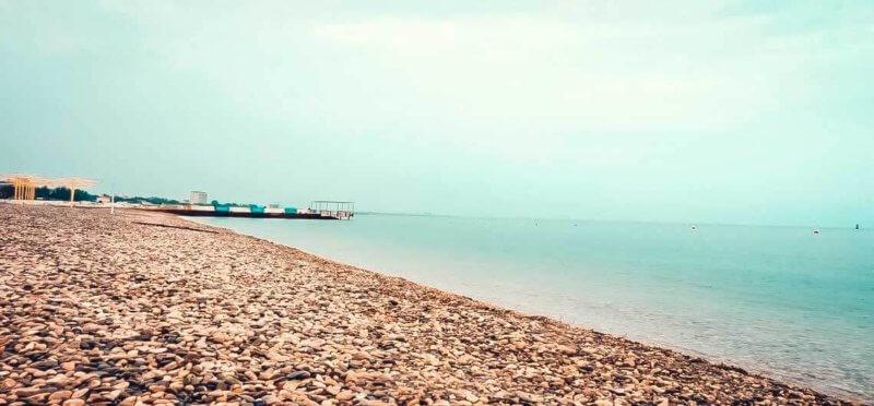 Фото пляжа Камешки в Феодосии