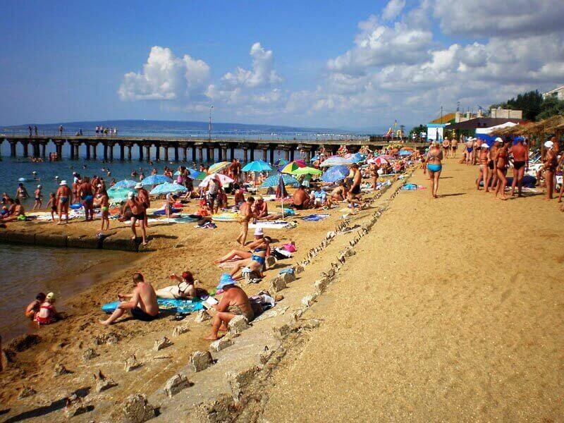 Фото пляжа в Приморском
