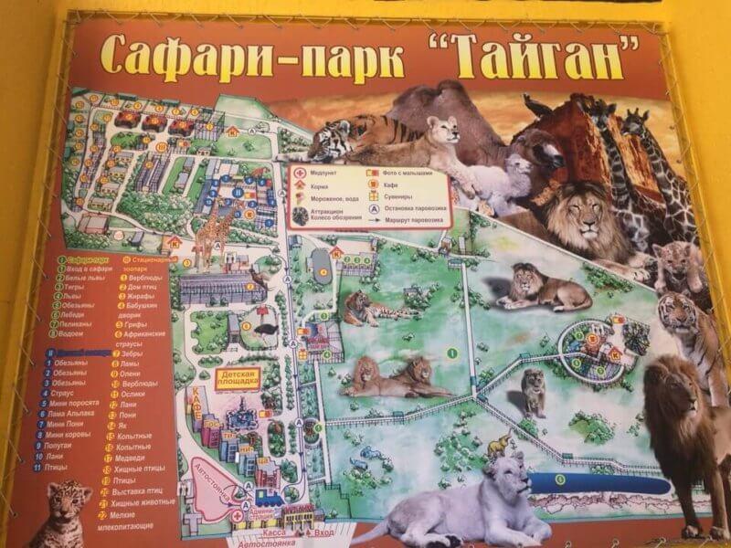 Тайган - сафари парк в Феодосии
