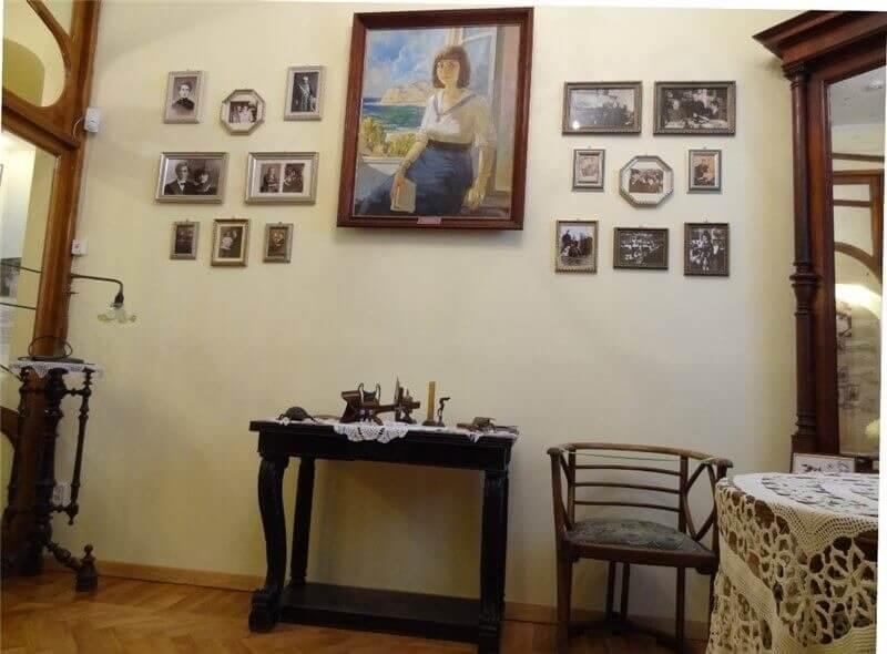 Зал памяти Марины Цветаевой