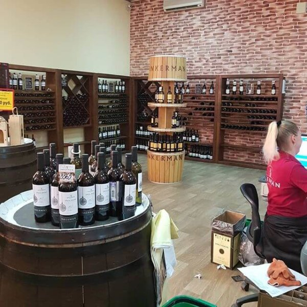 Магазин на заводе Инкермановских вин