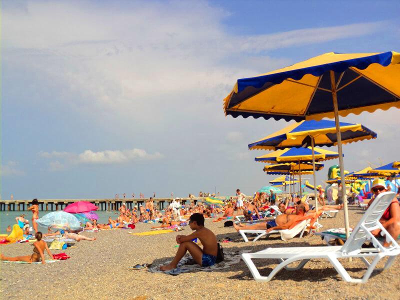 Пляж Новофедоровки - фото