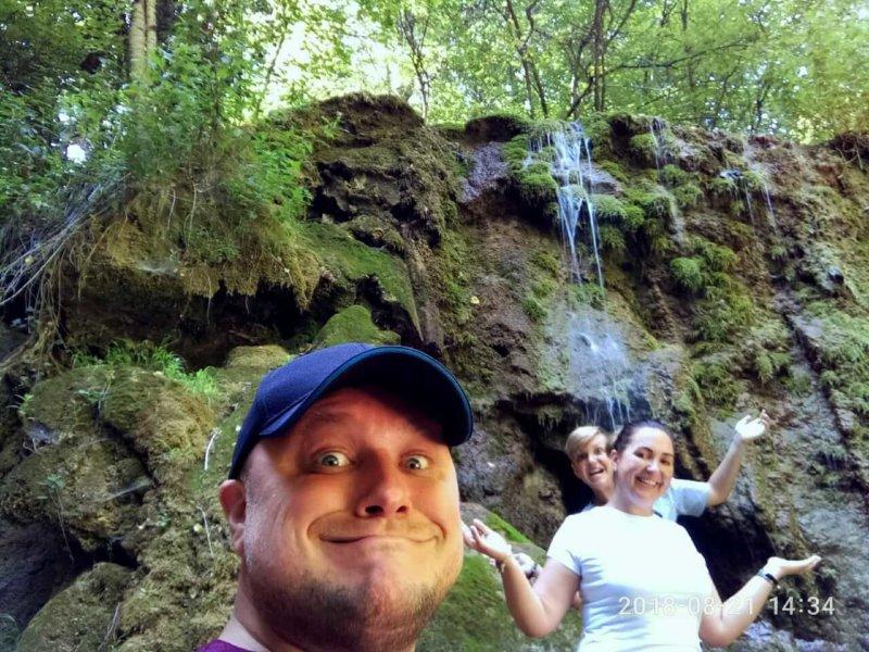 Фото с Водопада Серебряные струи от пользователей