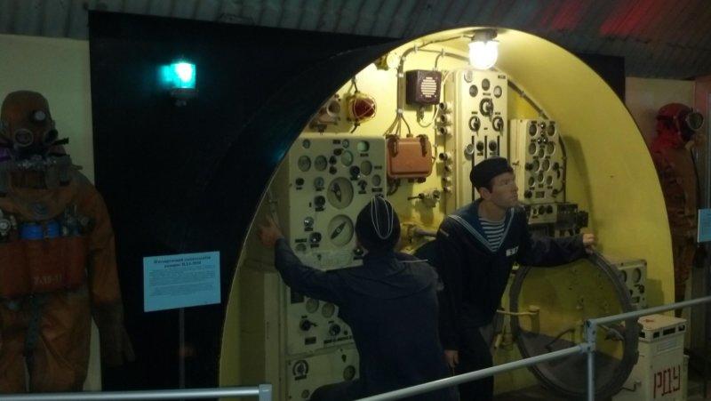 Фото из военно морского музея Балаклава