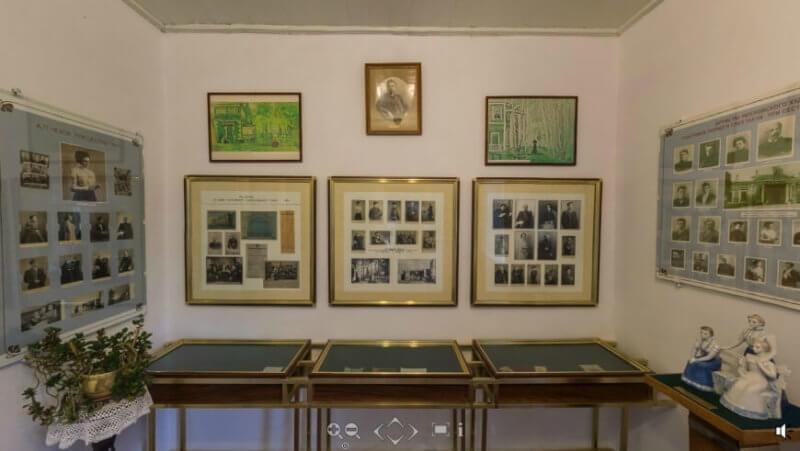 Фото выставка Гурзуф чеховской поры. Стенд, посвященный театру