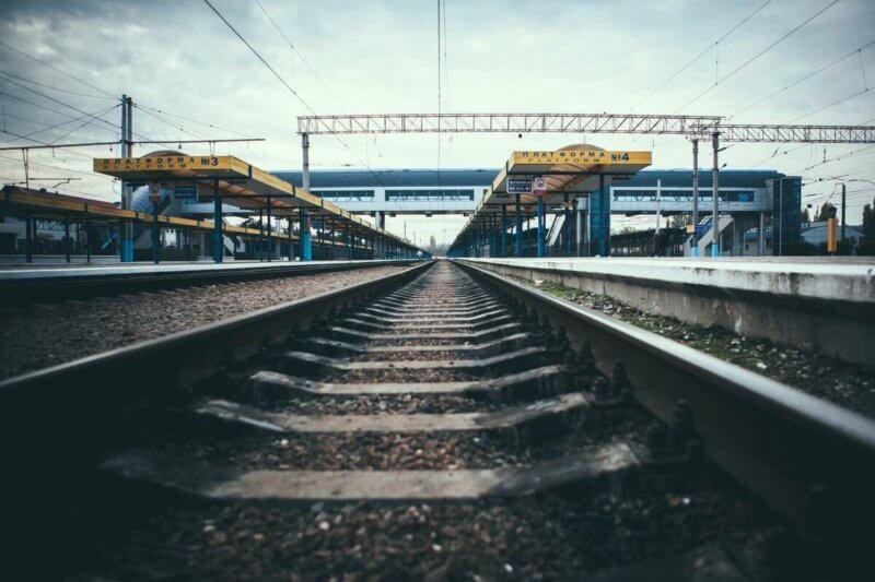 Фото с ЖД вокзала в Симферополе